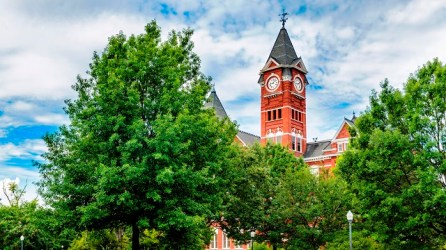 Lee County, home to Auburn University, is in the state's top three housing markets for median home sales prices. (iStock)