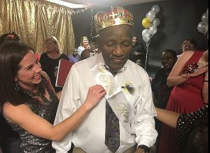 A king is crowned! Crowne Health of Eufaula hosts senior prom with a Mardi Gras theme. (Alabama NewsCenter file)
