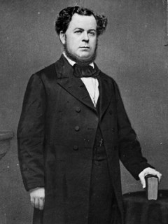 Stephen R. Mallory (ca. 1813-1873) was a U.S. senator from Florida during the 1850s and Secretary of the Navy of the Confederacy in the early 1860s. He strove to increase the Confederacy's naval power after secession through construction of war ships and the commissioning of existing vessels. (From Encyclopedia of Alabama, courtesy of Library of Congress)