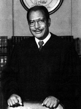 Judge Oscar W. Adams Jr. (1925-1997) was the first African-American member of the Birmingham Bar Association and was the first to serve on the Alabama Supreme Court. Prior to his judicial service, he was a noted civil rights attorney in Birmingham. (From Encyclopedia of Alabama, photo courtesy of the Birmingham Public Library)