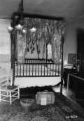 View of a bedroom at the First White House of the Confederacy, 1934. (Photograph by W.N. Manning, HABS, Library of Congress, Prints and Photographs Division)