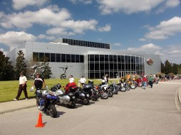 People who love motorcycles love Barber. (Barber Motorsports Park and Museum)