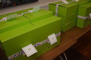 A look at the Cheeriodicals boxes. (Karim Shamshi-Basha/Alabama NewsCenter)