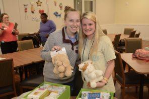 APSO volunteers delivered Cheeriodicals to Ronald McDonald House. (Karim Shamshi-Basha/Alabama NewsCenter)