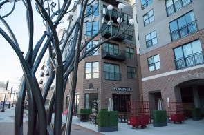 Purveyor Huntsville occupies a street-level space in The Avenue, a $36.4 million mixed-use development in downtown Huntsville. (Brittany Faush/Alabama NewsCenter)