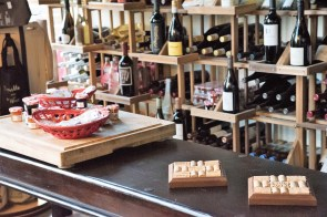Stephanie Kennedy-Mell and Matt Mell are wine experts, and they put that knowledge to use in creating Purveyor Huntsville, Sonoma Shoppe (pictured) and the Church Street Wine Shoppe. (Brittany Faush/Alabama NewsCenter)