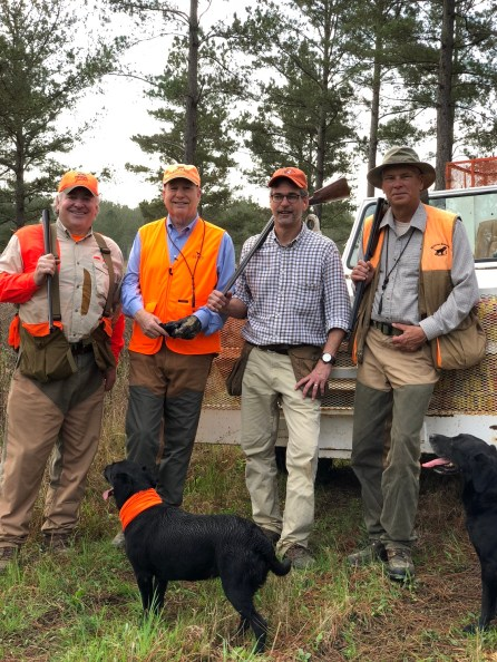 Participants enjoy a promotional hunt organized by Alabama Black Belt Adventures to showcase the region's outdoor amenities. (contributed)