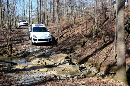 The boulder crossing on Barber's new offroad course. (Barber Motorsports Park and Museum)