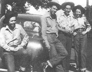 Maddox Brothers and Rose. (Photo courtesy of the Modesto Radio Museum)