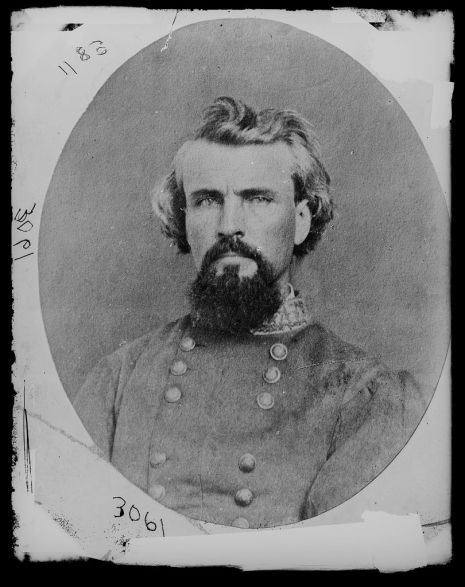 Gen. Nathan B. Forrest. (Library of Congress, Prints and Photographs Division)