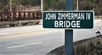A bridge in Homewood is named for John Zimmerman IV. (Solomon Crenshaw Jr. / Alabama NewsCenter)