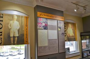 """The Monroe County Heritage Museum is in the former courthouse that inspired the one in """"To Kill a Mockingbird."""" It includes tributes to Truman Capote, who spent his summers when he was young in Monroeville. (Michael Tomberlin / Alabama NewsCenter)"""