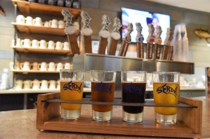 Serda Brewing is making beer in the Port City. (Brittany Faush / Alabama NewsCenter)