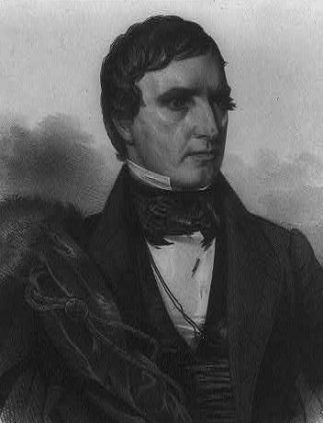 Engraving of then-U.S. Sen. William R. King (1786–1853), who died several weeks after becoming vice president of the United States. (Library of Congress Prints and Photographs Division, Wikipedia)