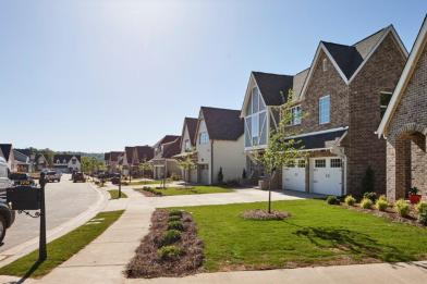 Alabama Power's Smart Neighborhood at Reynolds Landing is a community built for energy efficiency using microgrid technology. (Laurey Glenn)
