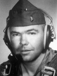 """Jefferson County native and pilot Thomas """"Pete"""" Ray was one of eight Alabama Air National Guard members who volunteered to fly a covert bombing mission during the Bay of Pigs assault on Cuba in April 1961. Ray was killed in a gunfight after his plane was shot down and his body was preserved as evidence of U.S. involvement in the attack until 1979, when he was returned to the U.S. for burial. (From Encyclopedia of Alabama, courtesy of Southern Museum of Flight)"""