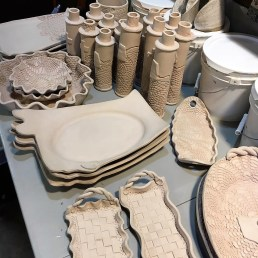 Blankenship Farms Pottery is constantly adding new designs and techniques to pieces. (contributed)