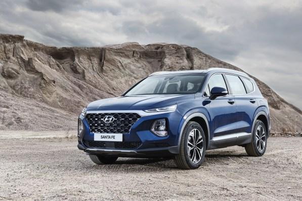 The 2018 Santa Fe is being produced at Hyundai Motor Manufacturing of Alabama. (Hyundai)
