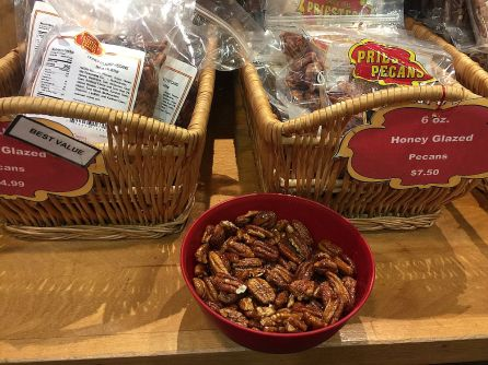 Priester's Pecans offers a variety of sweet treats that customers enjoy. (Keisa Sharpe/Alabama NewsCenter)