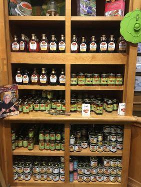Inside the Priester's retail location in Fort Deposit. (Keisa Sharpe/Alabama NewsCenter)