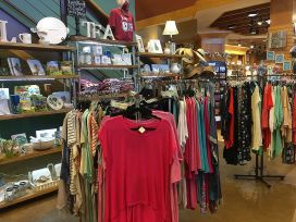 Bright, colorful clothing and other crafts can be purchased. (Keisa Sharpe/Alabama NewsCenter)