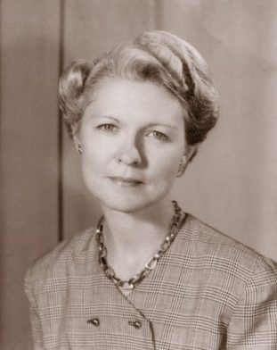 This photograph was used in the 1950 Wilcox High Yearbook, which was dedicated to Viola. (Photograph courtesy of Ruth H. Liddell)