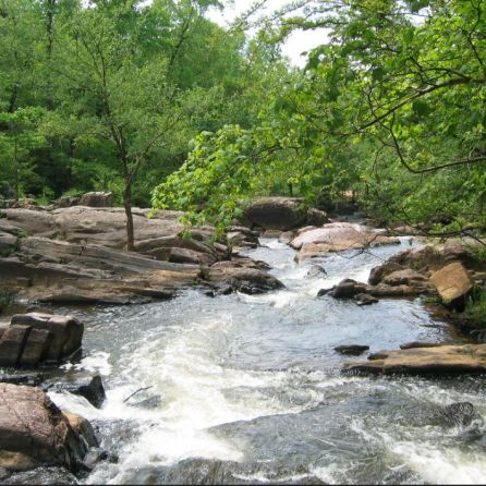 Streams of water at Chewacla State Park. (file)