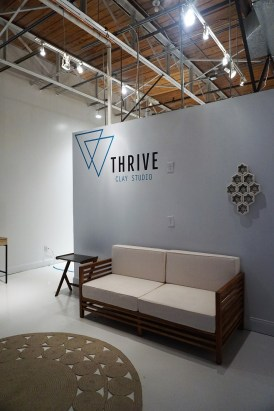 Lana Hobbs' Thrive Clay Studio is new to Pepper Place. (Erin Harney/Alabama NewsCenter)