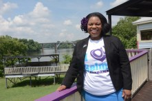 Ainka Jackson heads the Selma Center for Nonviolence, Truth and Reconciliation, which will receive a portion of the grant money awarded to the Black Belt Community Foundation. (Karim Shamsi-Basha/Alabama NewsCenter)