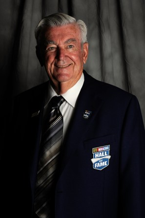 Bobby Allison poses prior to the 2011 NASCAR Hall of Fame induction ceremonies at the Charlotte Convention Center on May 23, 2011 in Charlotte, N.C. (Photo by John Harrelson/Getty Images for NASCAR)
