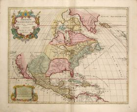 Jan Barent Elwe's re-issue of the Jaillot copperplate map of the United States, 1792. (Jaillot-Elwe, Wikipedia)