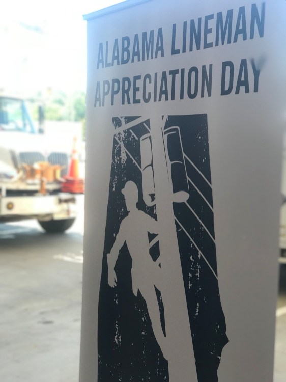 Alabama has had an official day honoring linemen since 2014. (Alabama NewsCenter)