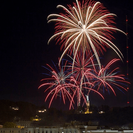 Honor those who have fought for the country's independence at Vulcan Park and Museum Fourth of July at 9 p.m. (Tommy Mosley)