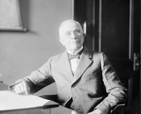 Photograph of B.B. Comer, March 16, 1920. (Library of Congress, Prints and Photographs Division)