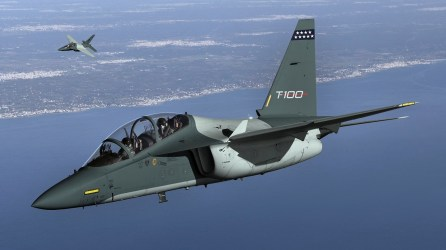Leonardo's T-100 training jet is used by several nations, including Israel. (Leonardo)