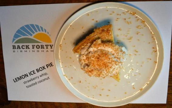 Make room for dessert at Back Forty Beer Company-Birmingham. (Michael Tombelrin / Alabama NewsCenter)