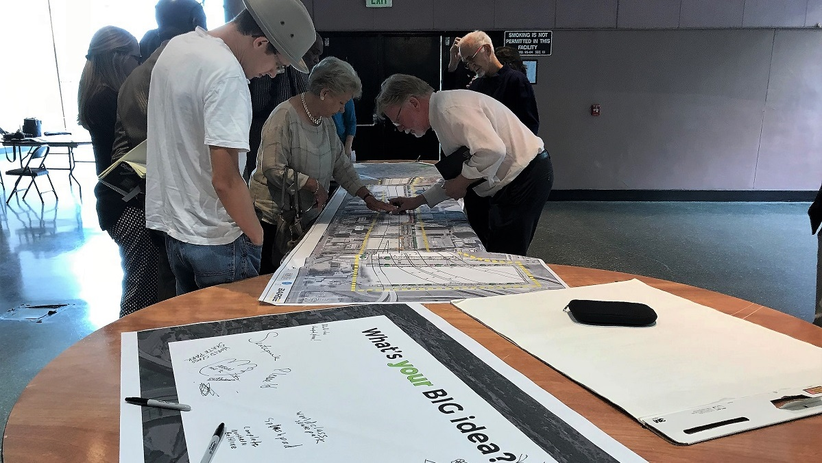 Public contributes ideas for new Birmingham downtown linear park