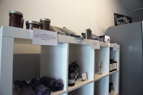 Odette's distinctive condiments are available in its gift shop. (Brittany Faush/Alabama NewsCenter)