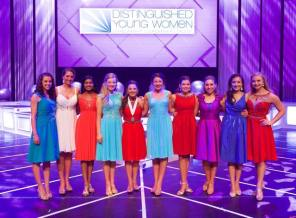 Distinguished Young Women have impacted nearly 800,000 young women through their program. (Facebook)