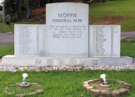 Morris Memorial Park. (Alabama NewsCenter)