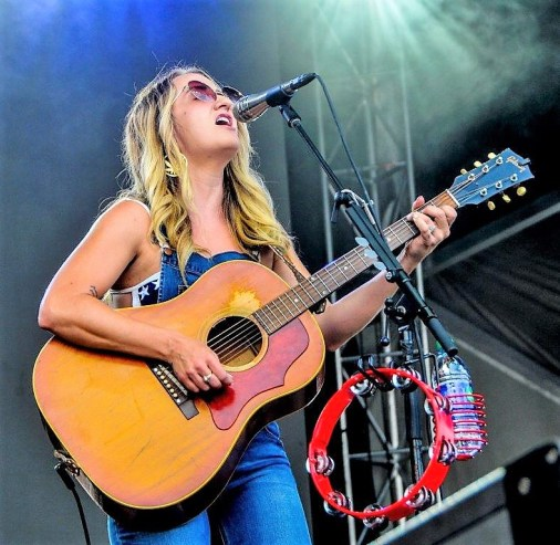 Margo Price performs Sunday at Sloss Fest 2018 in Birmingham. (Billy Brown / Alabama NewsCenter)