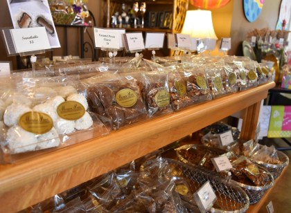 Morgan Price Candy Company has a large selection of confections. (Melissa Johnson Warnke / Alabama Retail Association)
