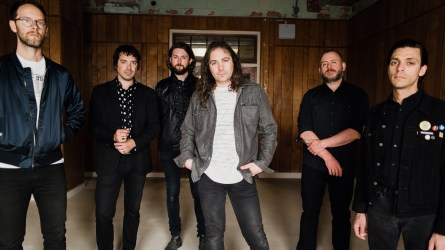 """The War on Drugs hit it big with last year's major-label debut, """"A Deeper Understanding,"""" which was three years in the making. (Shawn Brackbill)"""