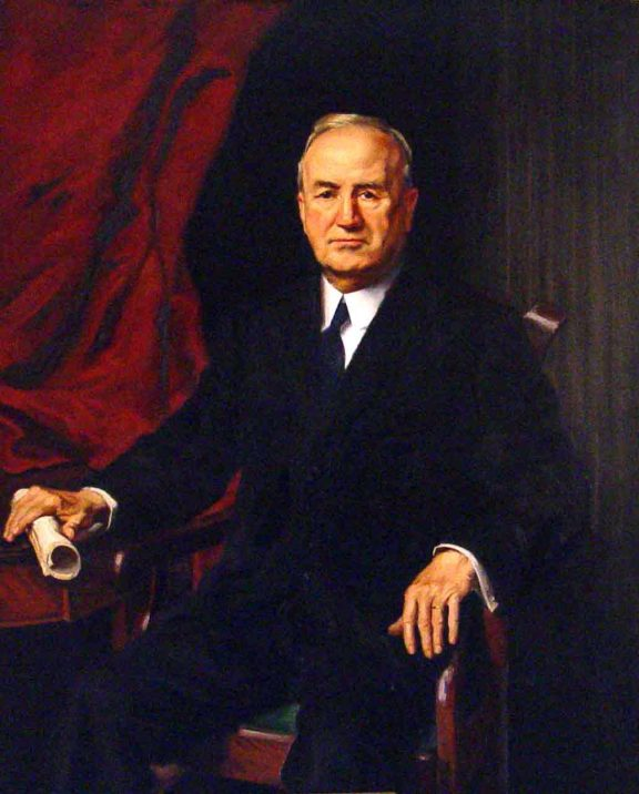 Portrait of Thomas Kilby, published in 1922. (Alabama Department of Archives and History)
