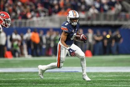 Kam Martin moves into the lead running back slot this year for the Tigers. (Wade Rackley/Auburn Athletics)
