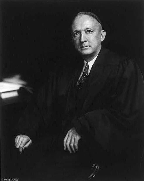 Portrait of Justice Hugo Black, c. 1937. (Library of Congress, Prints and Photographs Division)
