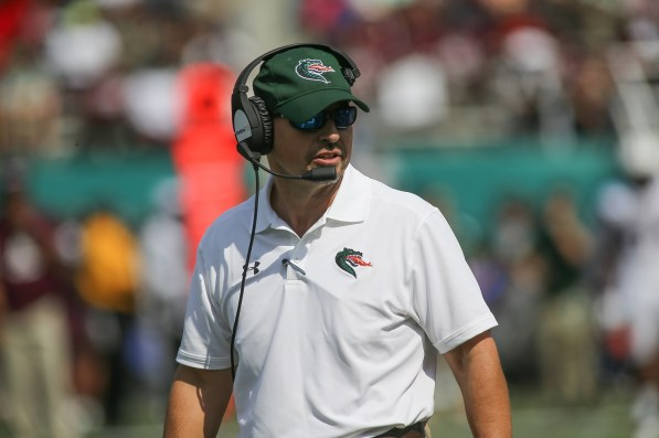 After the best season in UAB football history, Head Coach Bill Clark is looking for an even better performance from his Blazers this year. (UAB Athletics)