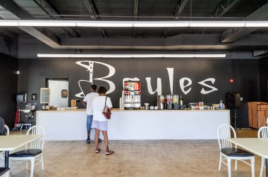 The new location of Bayles Catering has plenty of dine-in space along with take-out. (Charlestan Helton/Alabama NewsCenter)