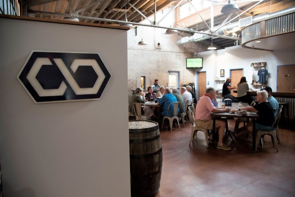 Common Bond is Montgomery's only production brewery and taproom. (Brittany Faush/Alabama NewsCenter)