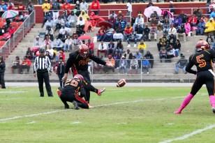Kicker Dalton Hall. (Tuskegee University Athletics)